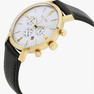 Bulova, Aerojet, Chronograph Watch, Men's Watch, Gold Plated, Stainless Steel