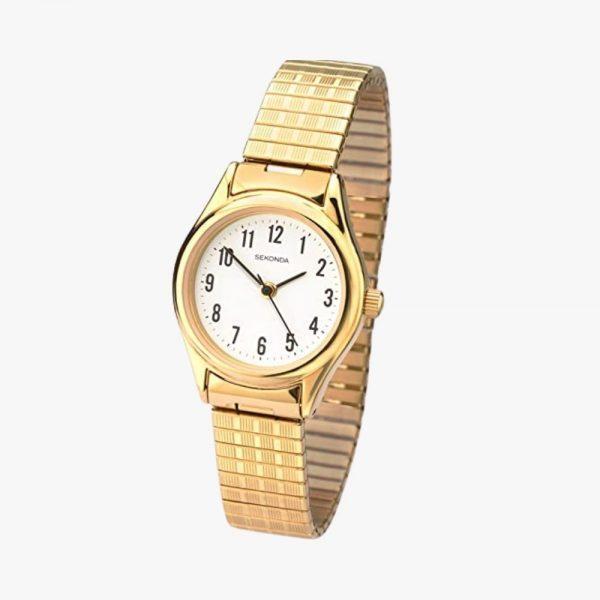 Sekonda, Ladies Watch, Expandable Watch, Rose Gold, Gold Plated, Analogue Watch