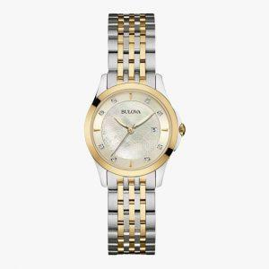 Bulova, Ladies Watch, Diamond, Stainless Steel, Analogue Watch