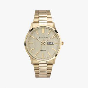 Accurist, Men's Watch, Stainless Steel, Gold Plated, Analogue