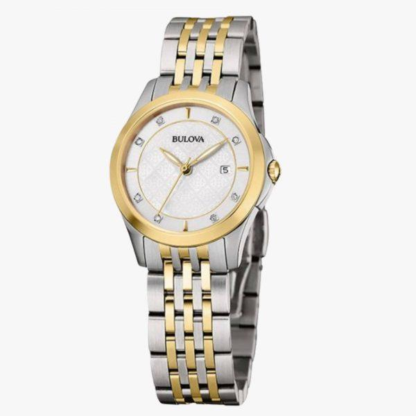 Bulova, Ladies Watch, Diamond, Stainless Steel, Analogue Watch