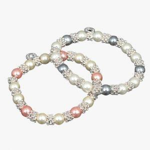 Equilibrium Jewellery silver pearl necklace