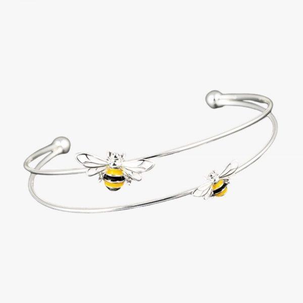 Equilibrium Jewellery Bee sparkle bangle