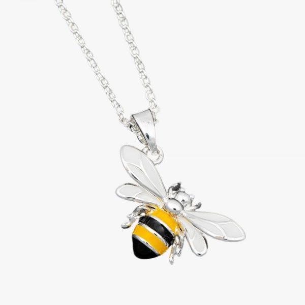 Equilibrium Jewellery Bee sparkle necklace