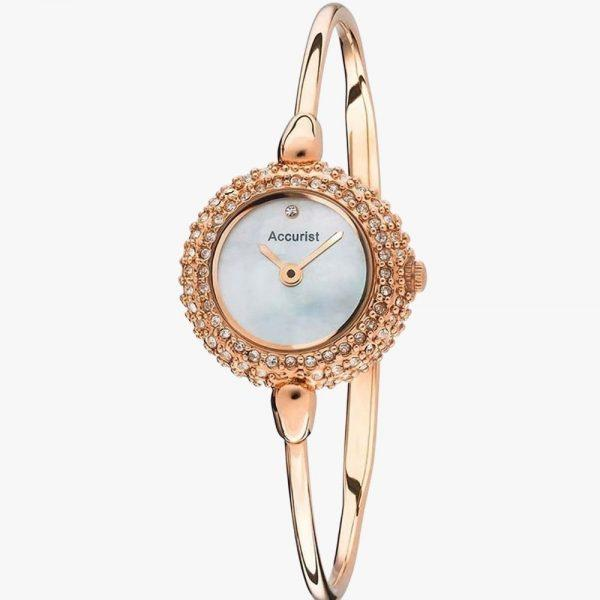 Rose Gold, Stainless Steel, Analogue Watch, Ladies Watch, Accurist