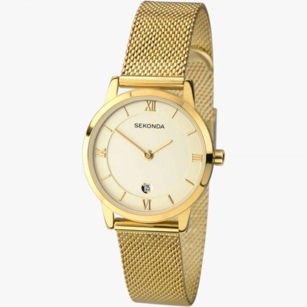 Sekonda, Ladies Watch, Gold, Gold Plated, Analogue Watch