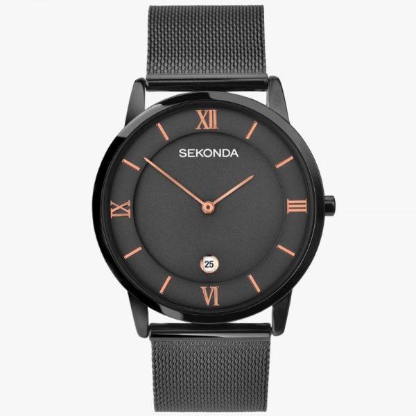 Sekonda, Men's Watch, Milanese, Grey, Analogue Watch