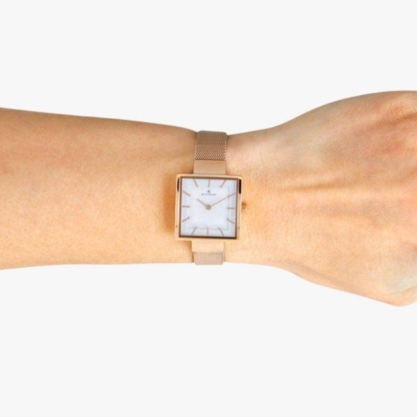Rose Gold Plated, Stainless Steel, Accurist, Ladies Watch